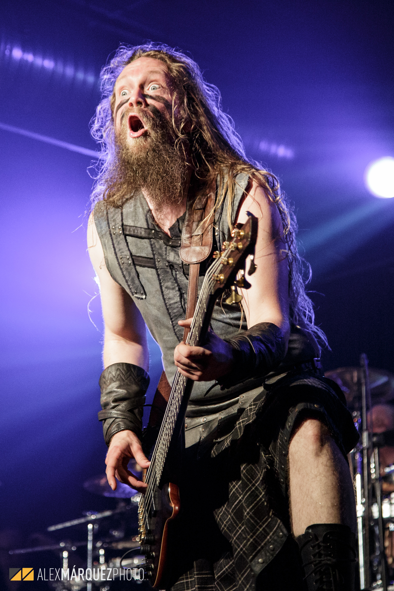 Ensiferum - Alex Márquez Photo