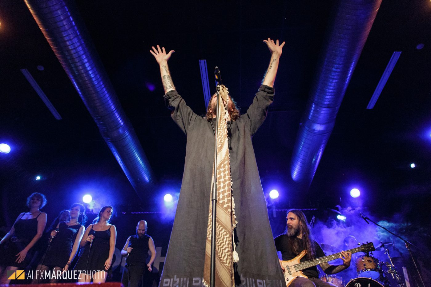 Orphaned Land- Alex Márquez Photo
