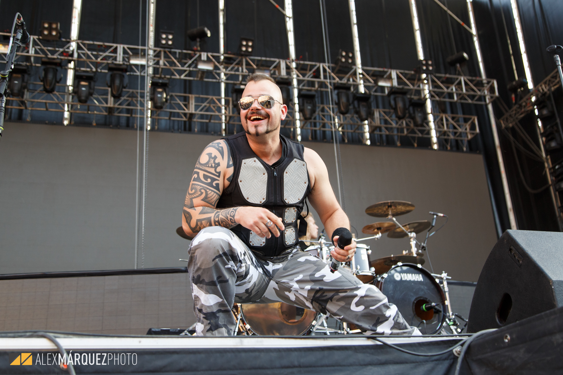 Sabaton - Alex Márquez Photo