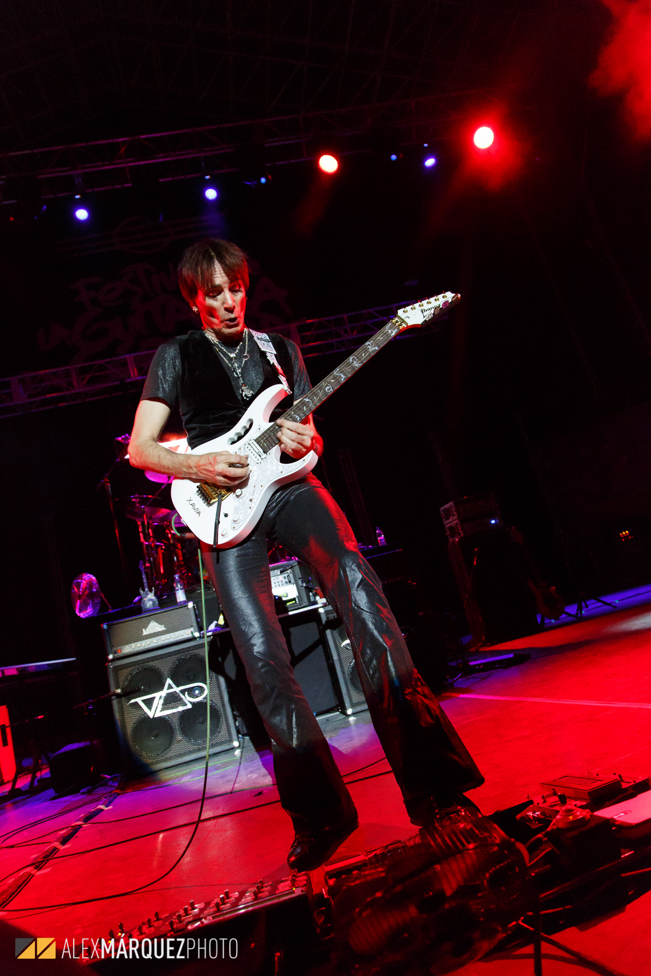 Steve Vai - Alex Marquez Photo